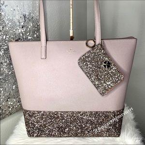💫Holiday Set💫 Kate Spade Penny Greta Glitter Bag